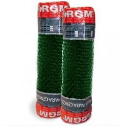Malla plastica verde