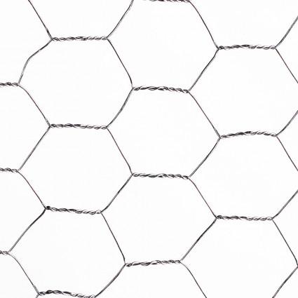 "Malla Hexagonal Galvanizada 3/4"" x 0,80 mts. Rollo 10 Mts. - RGM"