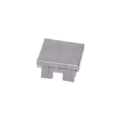 Tapas PVC Sección 60x60 mm Gris