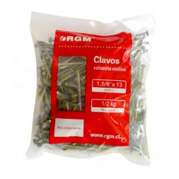"""Clavos Volcanita 1 ⅝""""x13 Bolsa 0.5Kg"""
