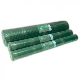 Malla Jard. Plast. Verde Luz 10 mm 1,03 mts. ancho