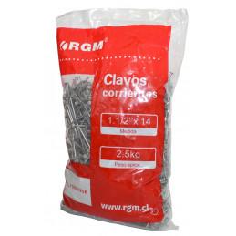 "Clavos 1½""x14 Bolsa 2.5 Kg"