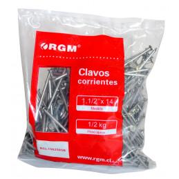 "Clavos 1 ½""x14 Bolsa 0.5 Kg"
